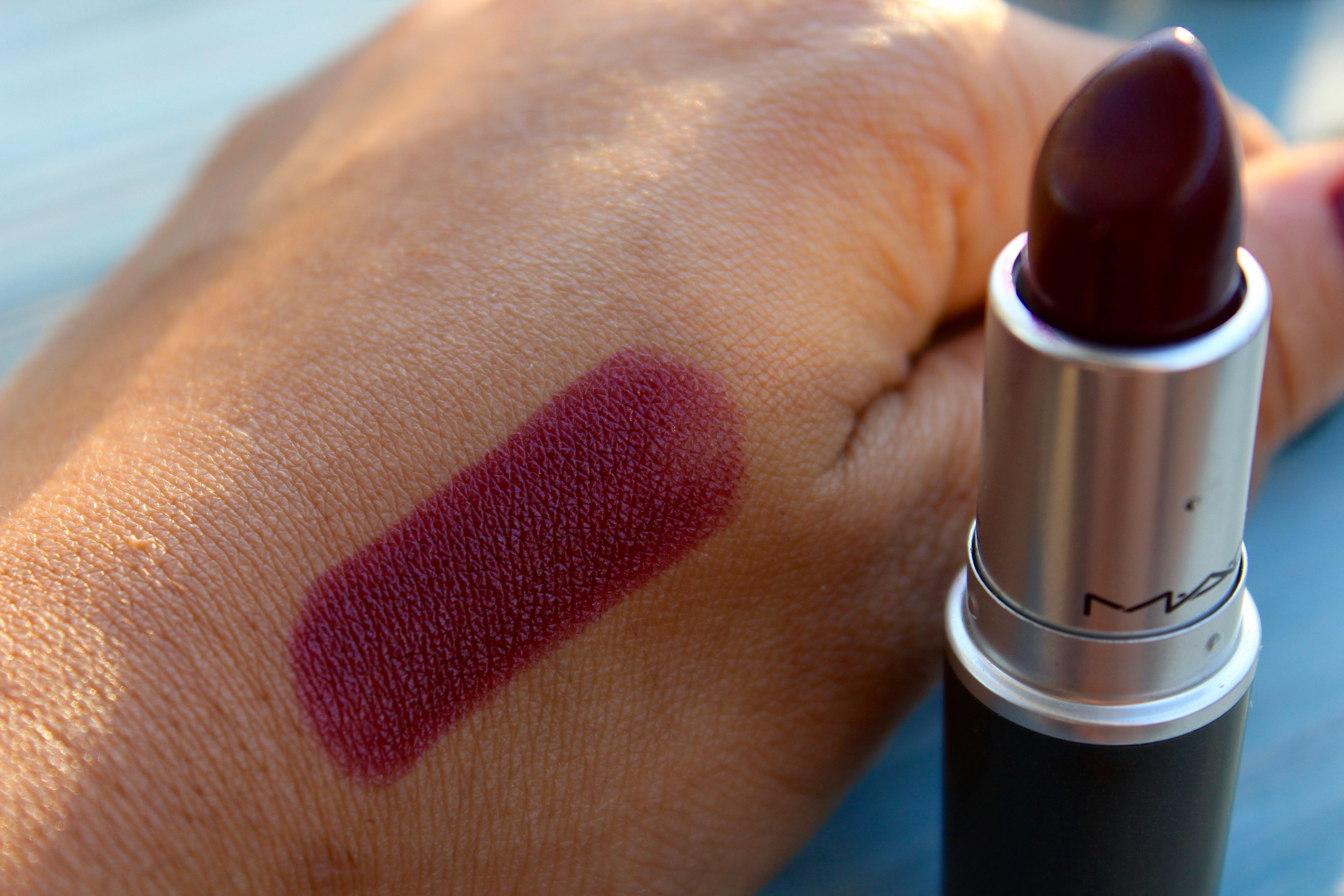 My MAC Lipstick Collection | sweetpri